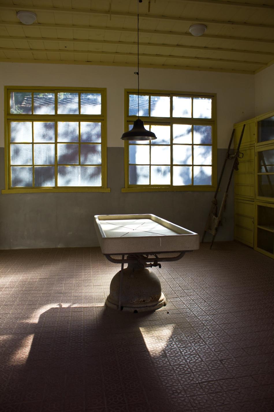 sorokdo autopsy table