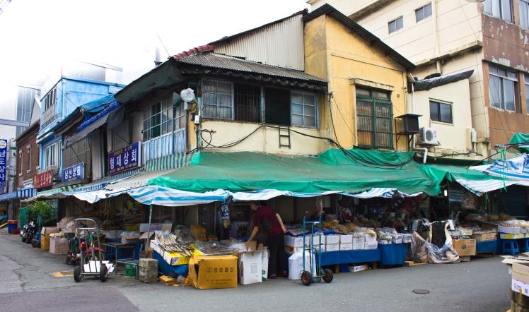 corner shanty japanese bldg nampo