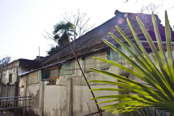 janggundong hill house rear exterior