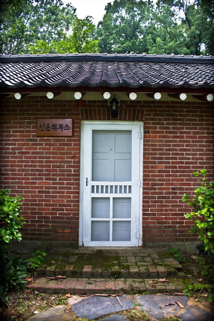 linton house entrance