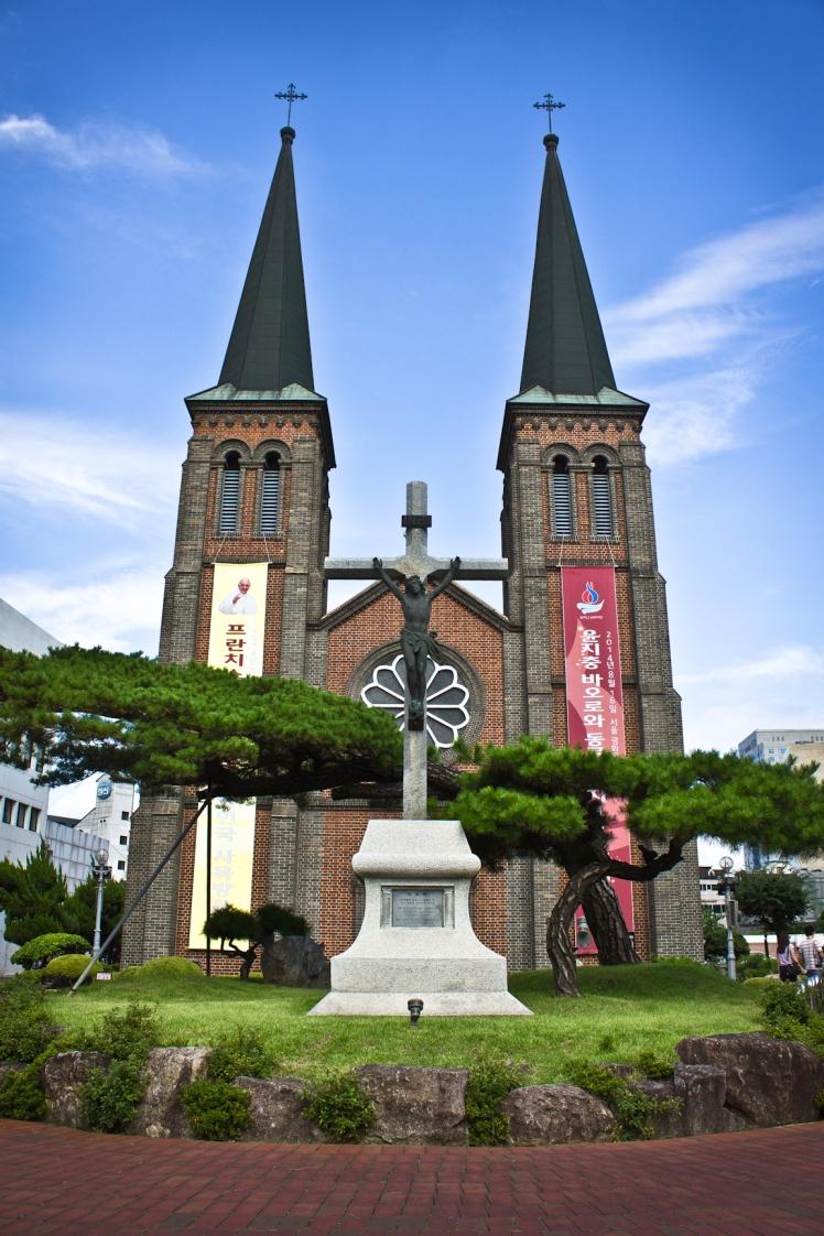 gyesan cathedral 1