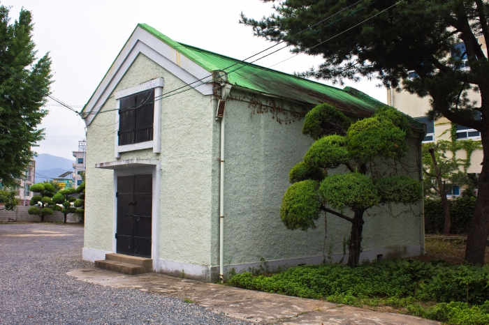 gimhae tax office colonial building