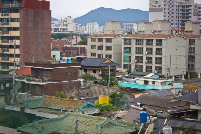 miryang cinder block reinforced building overview
