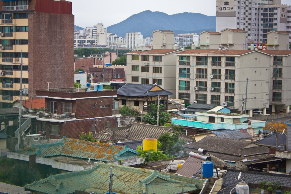 miryang cinder block reinforced building overview