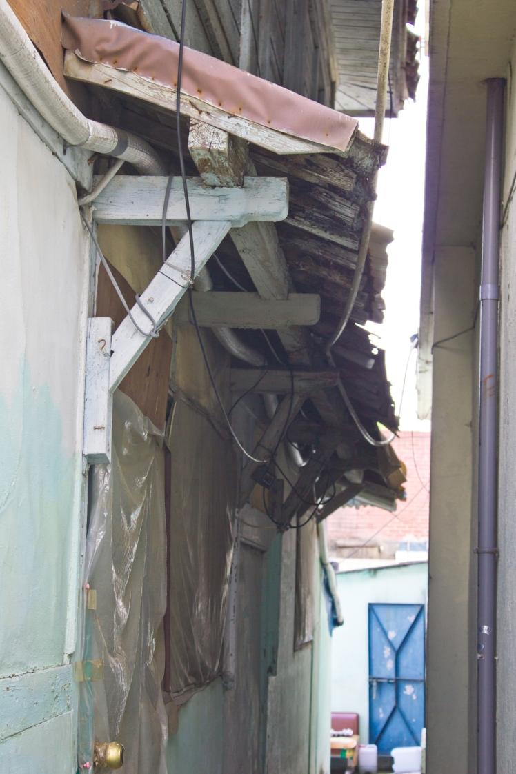 traintrack japanese house side