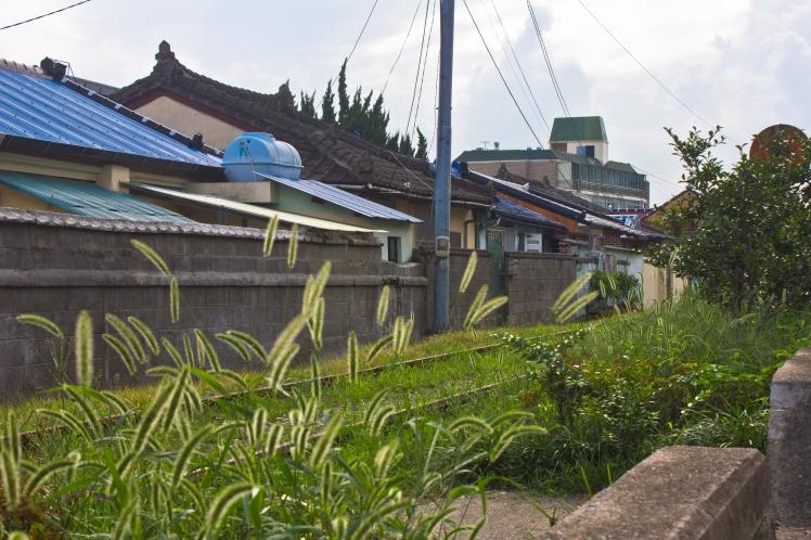 old railway on east jinhae