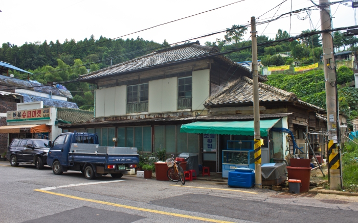 southeast coast japanese house jinhae