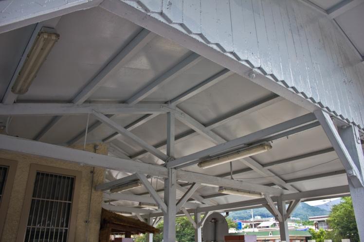 jinhae station gable roof
