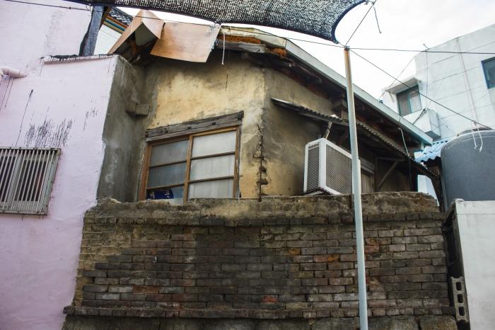 masan namseongdong buildings