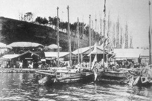 Jongpo, Yeosu. 1920s.