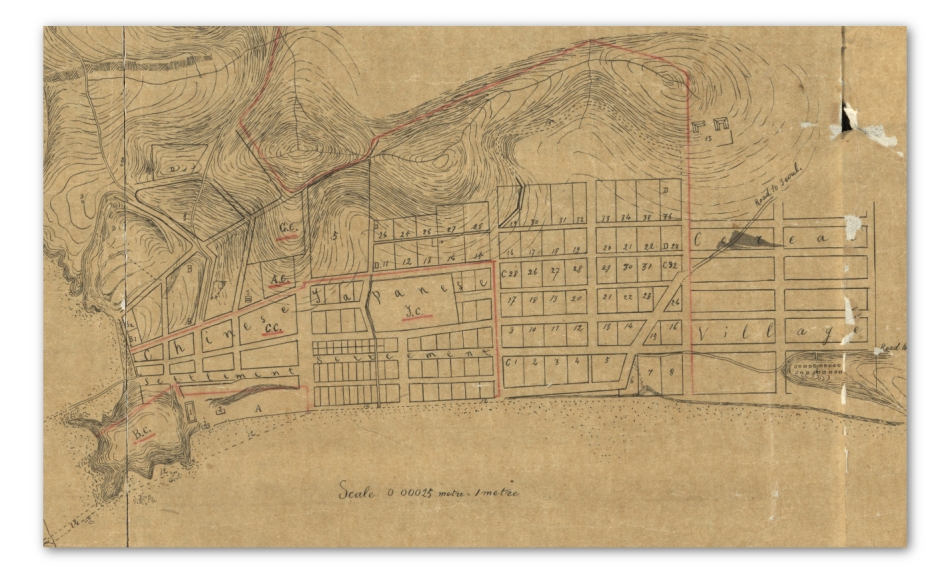 Chemulpo Settlement Plan 1884 - Library of Congress
