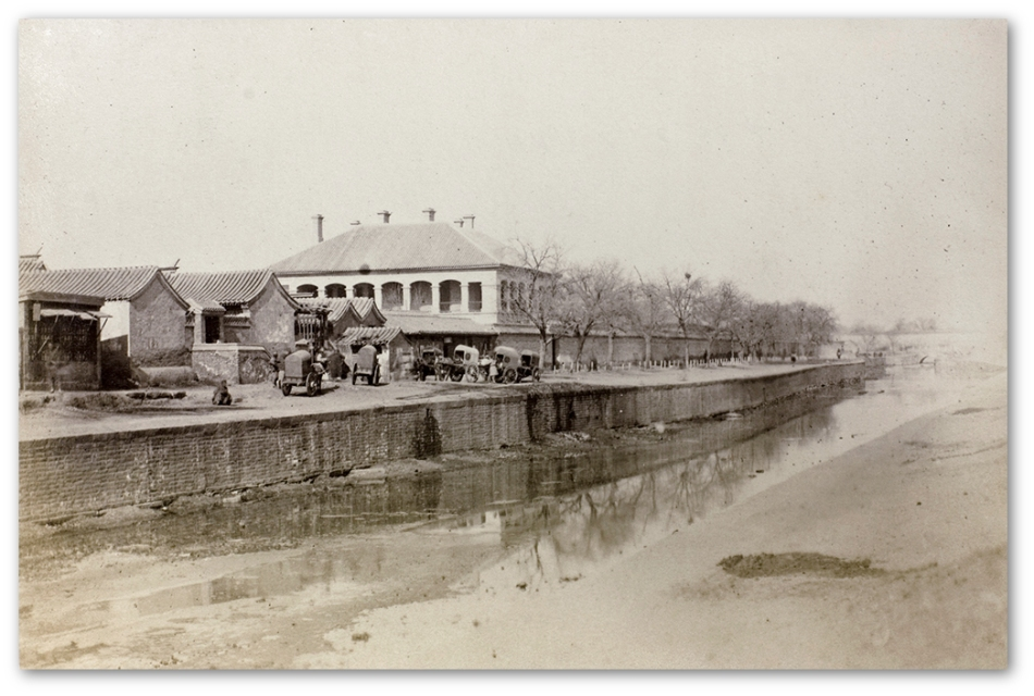 Imperial Canal and British Legation, Peking - 1870s-1890s - Kew National Archives
