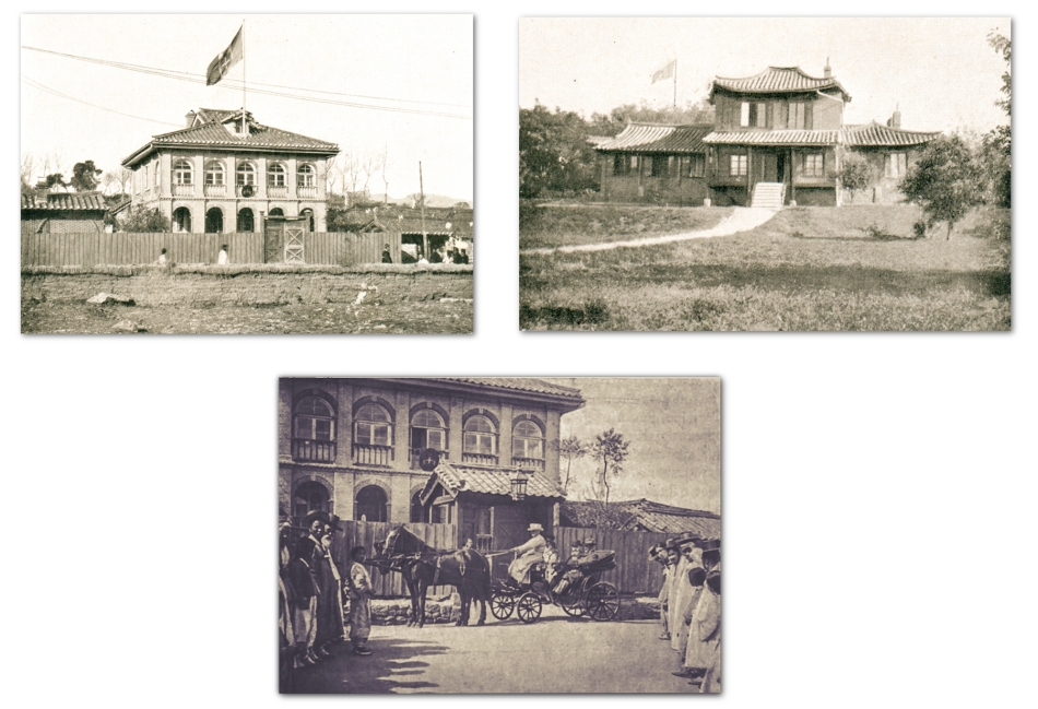 Italian Legation and Consulate Seoul - Compiled Image - from Br Anthony and Corea e Coreani
