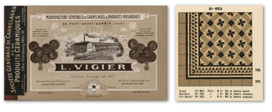 L Vigier - French Made - pub c1900