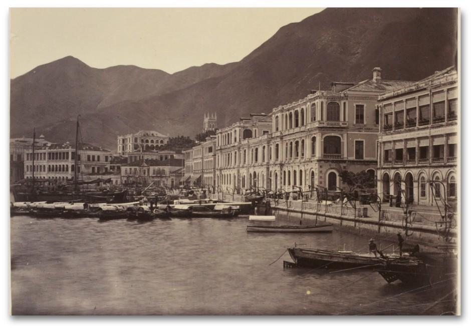 Praya - Hong Kong - John Thomson 1868