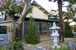 Figure 27. A well-preserved culture house example in Jinhae, Korea. Government records suggest it was built in 1938. The design is comparable to other culture houses featured in Japanese print media of the day. Source: Photographed by Nate Kornegay, 2015.