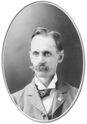 Edwin Parker Overmire Portrait - from Laurence Overmire