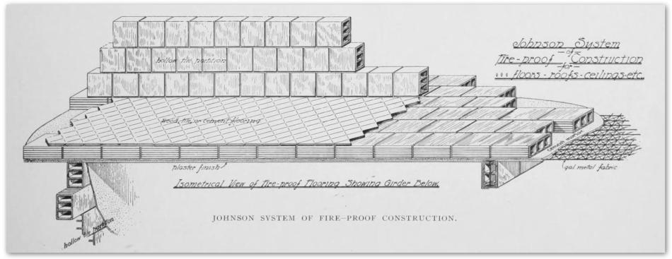 Johnson floor diagram - BrickBuilder Oct 1902
