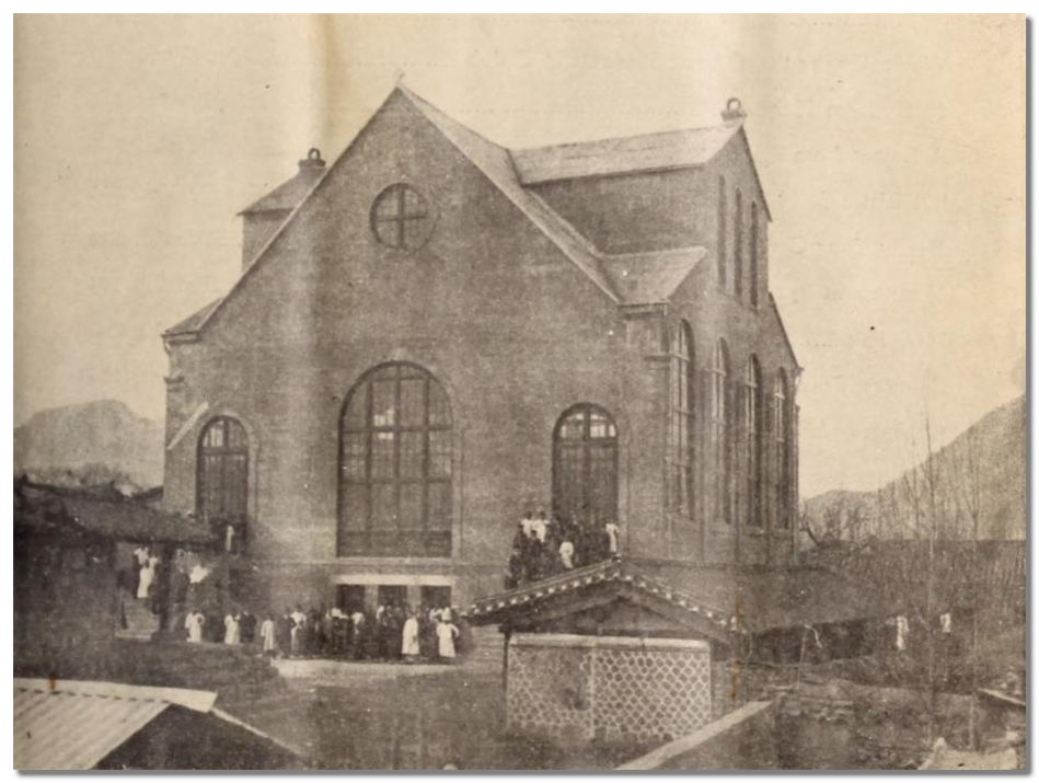 Seoul Central Church 1913 Building - Korea Mission Field May 1913